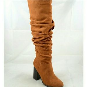 Rutched Tall Boots